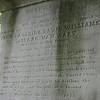 Inscription on the monument