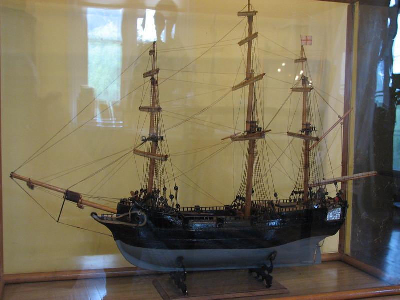 Model of HMS Vulture