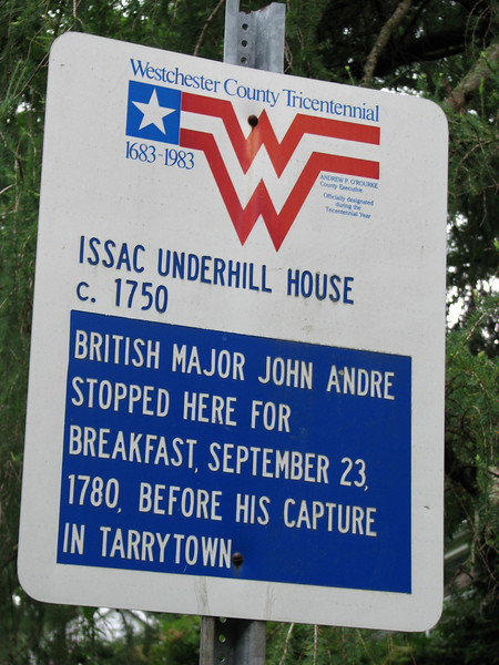 Marker placed for the Westchester County Tricentennial.