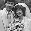 1981 June 20 Gerald C Molidor Jr. and Kathryn Marie Andres Wedding Photo