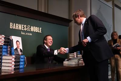 Cuomo Book Signing