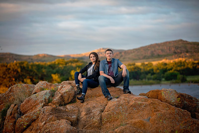 Andrew and Elleigh  Senior 2019