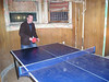 Marc playing ping-pong
