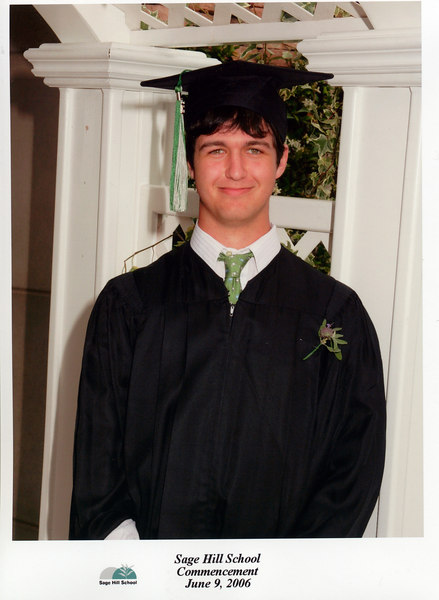 Andrew's graduation (official pictures)