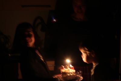 Graham's 8th Birthday