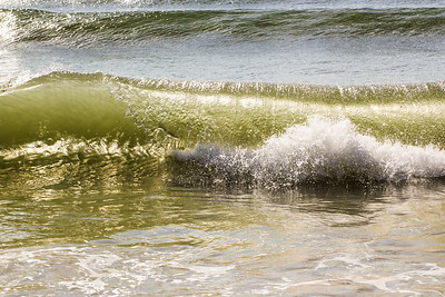 Summer shorebreak