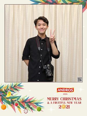 ANDROS | Christmas & New Year instant print photo booth | Chụp hình in ảnh lấy liền Giáng sinh 2020 | WefieBox Photobooth Vietnam