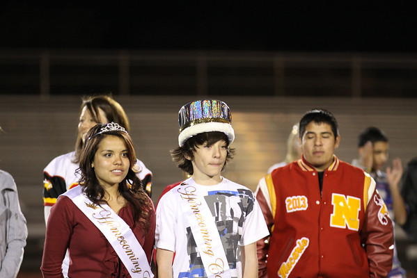 Andy part of the Homecoming Court at Northglenn