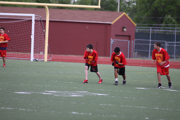 Andy's Football Practice May 31, 2012