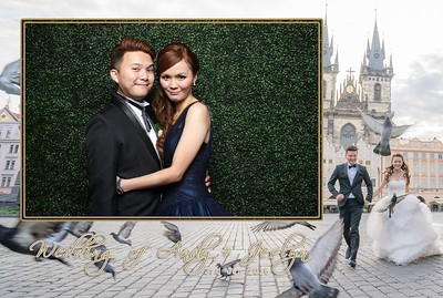 Andy + Jeslyn Photo Booth Album