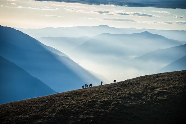 Herders - Cordillera Blanca, Peru