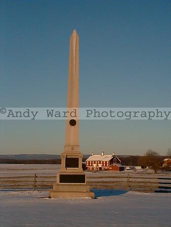 Gettysburg Winter Scenes