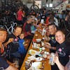 Post-ride refreshments at the Gestalt