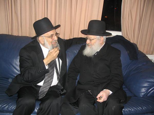 Rabbi Anemer with Rabbi Heinemann