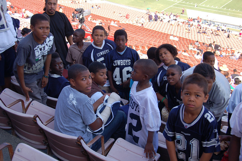 The Cowboys in Section 6!