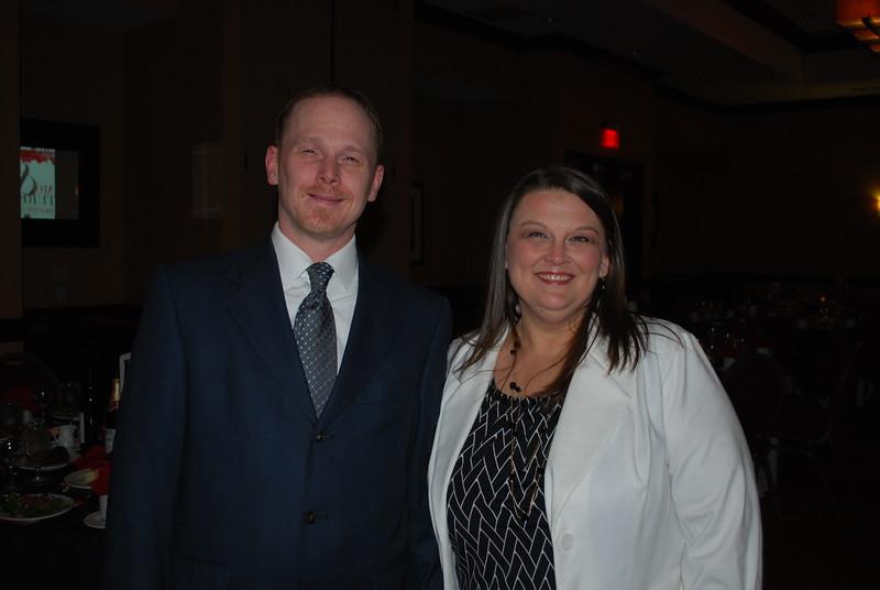 Mike and Chef Michele Lambert