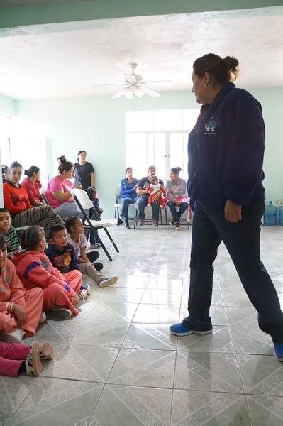 Camp with churches Salitre & Estancia