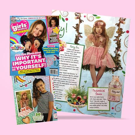 Two Fairy Photos in Magazine