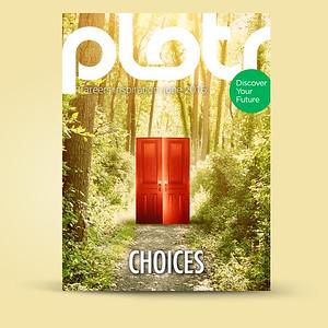 Door Photo Use on Magazine Cover