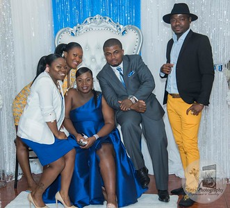 Angeline Mulbah and Abraham Russell's Baby Shower Photos