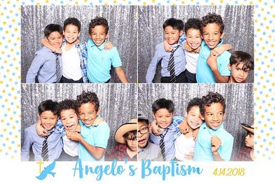 Angelo's Baptism Prints