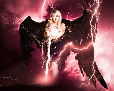 Dark Angel summons lightning