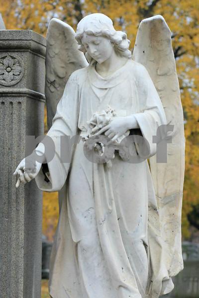 Autumn Angel  Copyrt 2014 M Burgess
