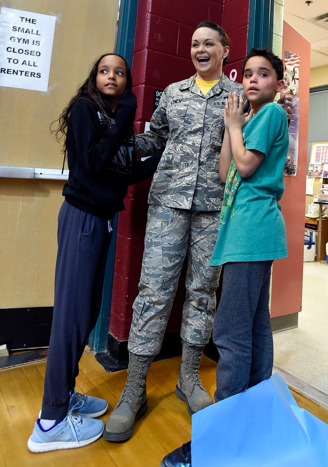 Military Reunion with Kids