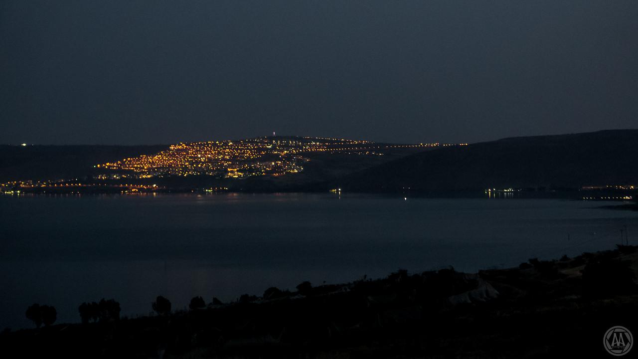 Tiberias, across the Sea of Galilee