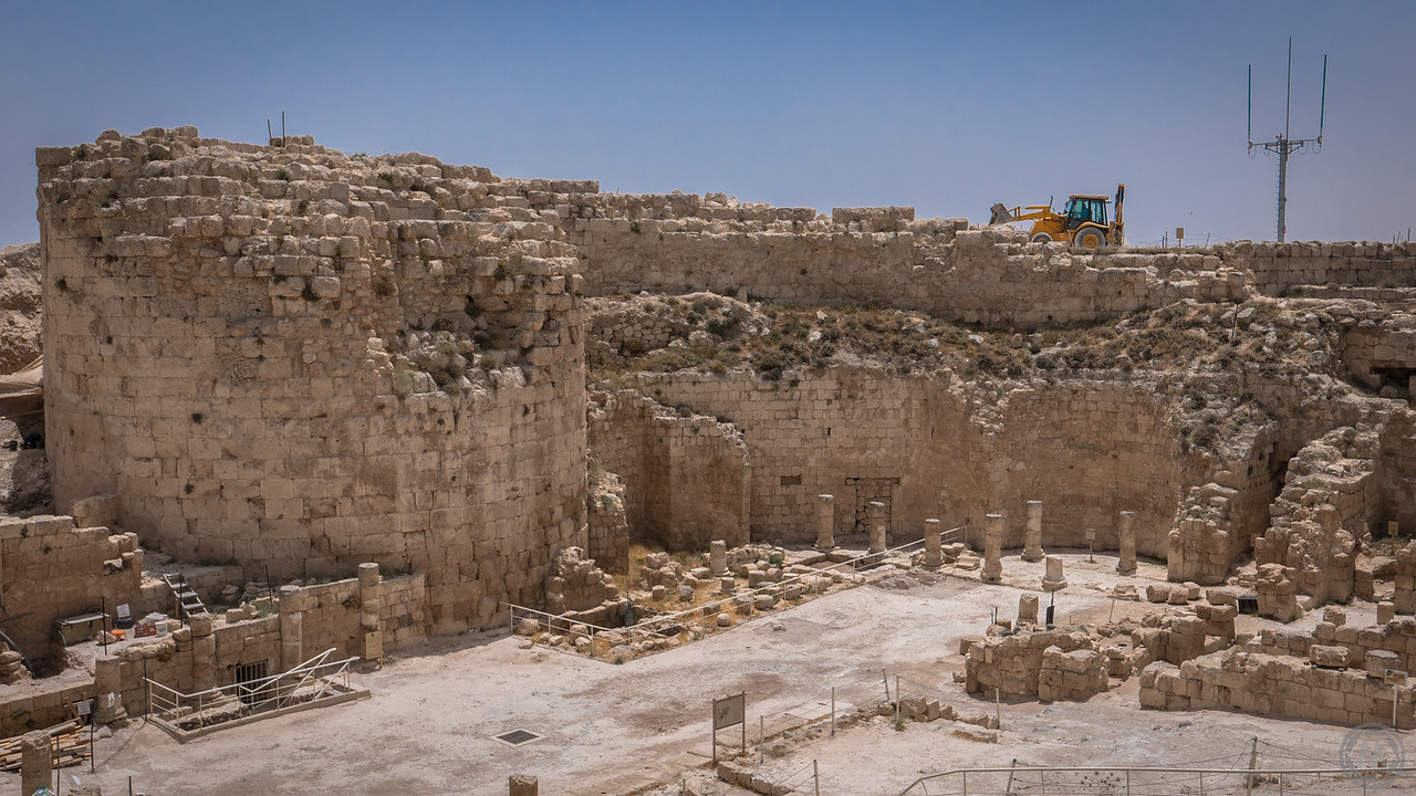 The palace and royal tomb King Herod built for himself
