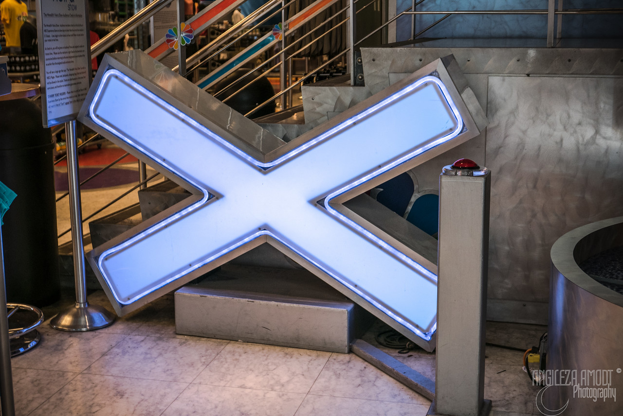 the X from America's Got Talent
