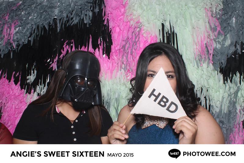 Angie's Sweet Sixteen