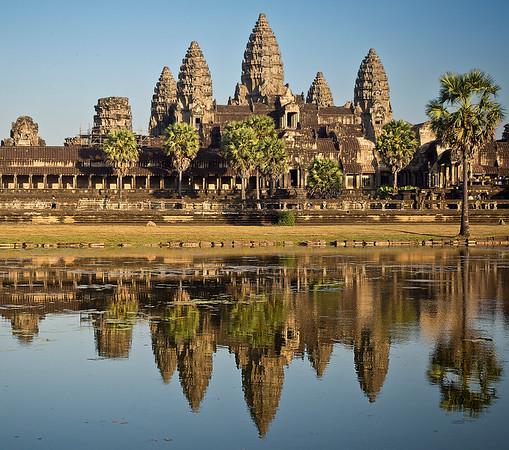 Sunset, Angkor Wat.