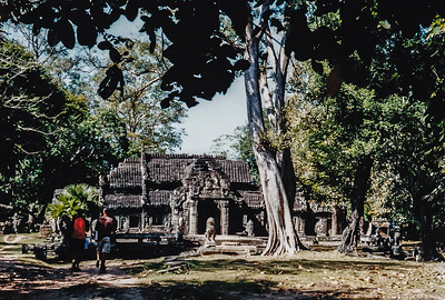 Banteay Kdei and Srah Srang