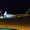 Unloading crews work into the night to get this An-124 unloaded.