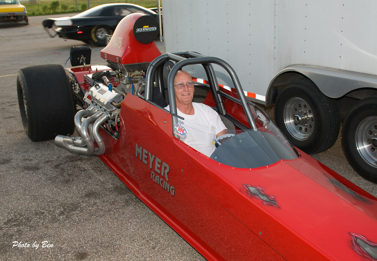 Thanks to the guys at Meyer Racing, for the seat time and to Ben for taking the shot.