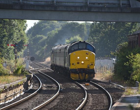 Anglia Class 37s. 15/08/18 - 18/08/18.