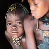 Mucawana and Himba children