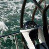On board a former America's cup racing boat