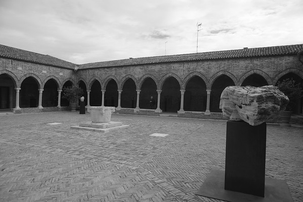 art gallery and chiostro<br /> Oct. 2015