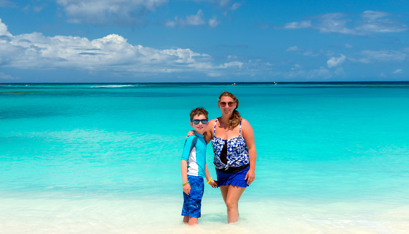 Oneea's favorite beach was no doubt Shoal Bay East. That water is just unreal!