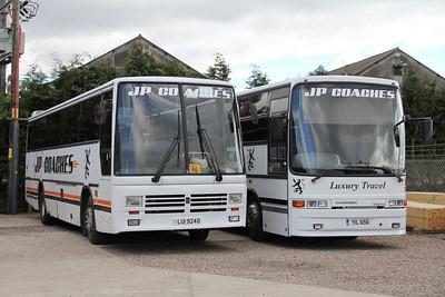JP Minicoaches Forfar LUI9240_YIL658 Depot Forfar Apr 12