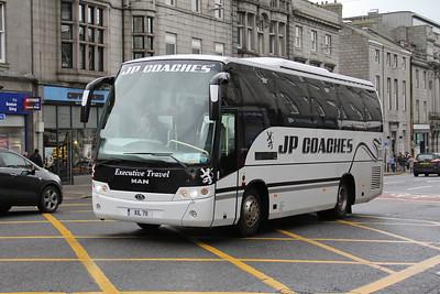 JP Minicoaches Forfar XIL711 Union St Abdn Feb 16