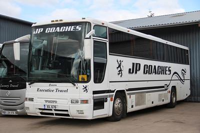 JP Minicoaches Forfar XIL676 Depot Forfar Apr 12