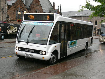 Bankfoot Buses MX08MZJ Mill St Perth Jul 08