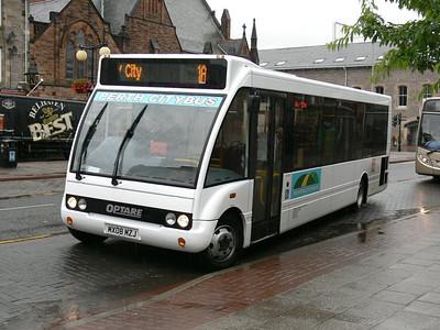 Bankfoot Buses MX08MZJ Mill St Perth Jul 08