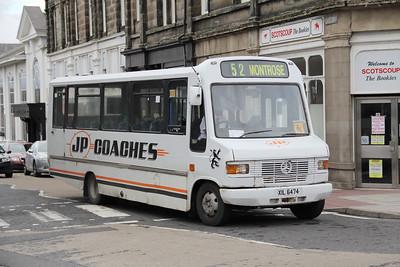 JP Minicoaches Forfar Hume St Forfar Sep 11