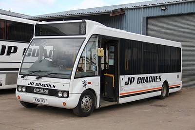 JP Minicoaches Forfar KX51UCT Depot Forfar Apr 12
