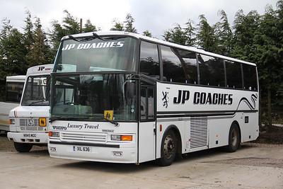 JP Minicoaches Forfar XIL636 Depot Forfar Apr 12