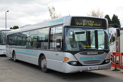 Fishers Dundee YN53GFY Depot Dundee Apr 12